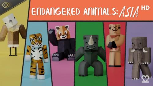 Endangered Animals Asia: HD