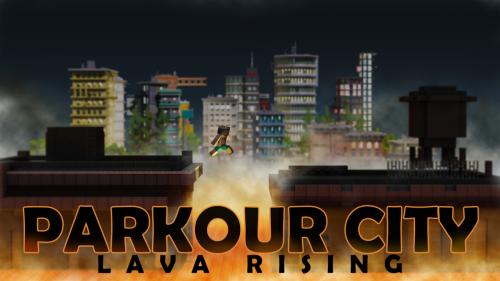 Parkour City Lava Rising